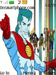 Captain Planet theme screenshot