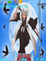 Toshiro Hitsugaya theme screenshot