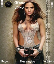 Jennifer Lopez tema screenshot