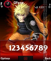 Naruto tema screenshot