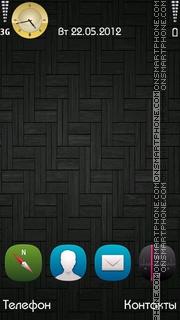 Grey theme screenshot