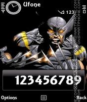 Скриншот темы X-men WOlverine