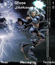 Storm theme screenshot