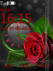 Love Roses theme screenshot