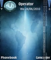 Black Blue theme screenshot