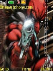 Deadpool theme screenshot