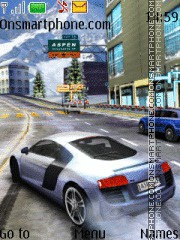 Asphalt 5 theme screenshot