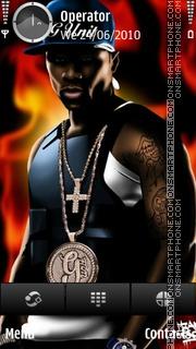 50 Cent G-unit tema screenshot