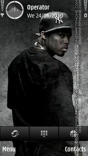 50 Cent Hustlers tema screenshot