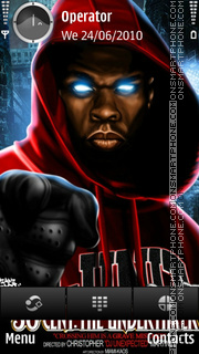 50 Cent tema screenshot
