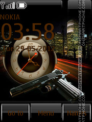 Criminal city By ROMB39 theme screenshot