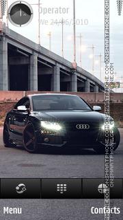 Audi lights theme screenshot