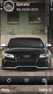 Audi s5 theme screenshot