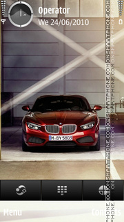 BMW RED theme screenshot