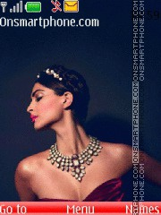 Sonam Kapoor - Cannes theme screenshot