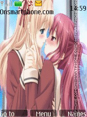 Anime Yuri theme screenshot