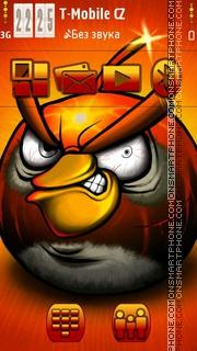 Angry Bird 07 theme screenshot