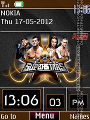 WWE Clock 01 theme screenshot