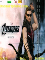 The Avengers Hawkeye Theme-Screenshot