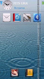 iPhone Style tema screenshot
