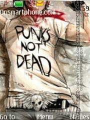Punks not dead es el tema de pantalla