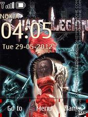 Chaos Legion theme screenshot