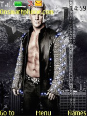 Chris Jericho theme screenshot