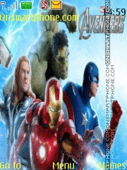The Avengers theme screenshot