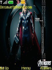 Скриншот темы The Avengers Thor