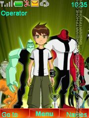 Ben Ten tema screenshot