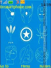 Avengers theme screenshot