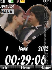 Fatma n Kerim CLK theme screenshot