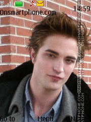 Robert Pattinson Theme-Screenshot