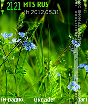 Grass+ theme screenshot