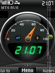 Battery Indicator theme screenshot