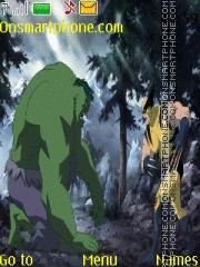 Hulk vs Wolverine tema screenshot