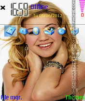 Kelly Clarkson 01 theme screenshot