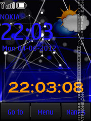 Blue V1 By ROMB39 theme screenshot