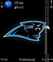 Black Panther theme screenshot