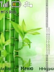 Bamboo theme screenshot