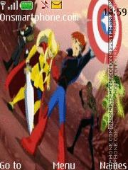 Скриншот темы The Next Avengers