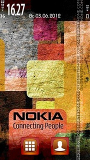 Nokia Color theme screenshot