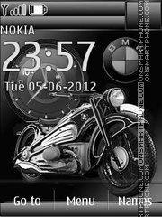 BMW Moto theme screenshot
