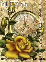 Скриншот темы Golden Rose