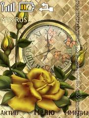 Golden Rose theme screenshot