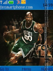 Ray Allen theme screenshot