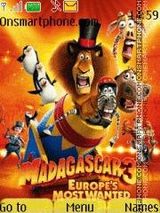 Скриншот темы Madagascar 3 01