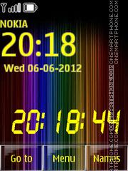 Spectrum 01 theme screenshot