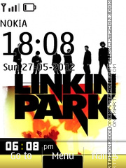 Linkin Park Theme 01 tema screenshot