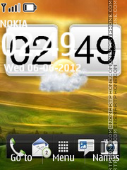 Htc Sense theme screenshot